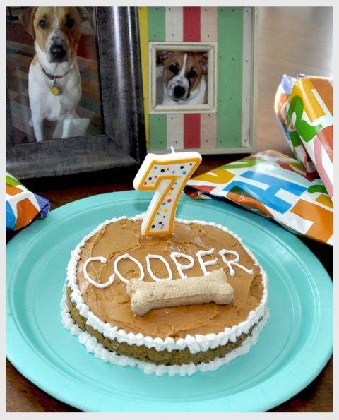 Best Dog Birthdays Images On Pinterest Birthday Ideas Dog - Cute easy birthday cakes