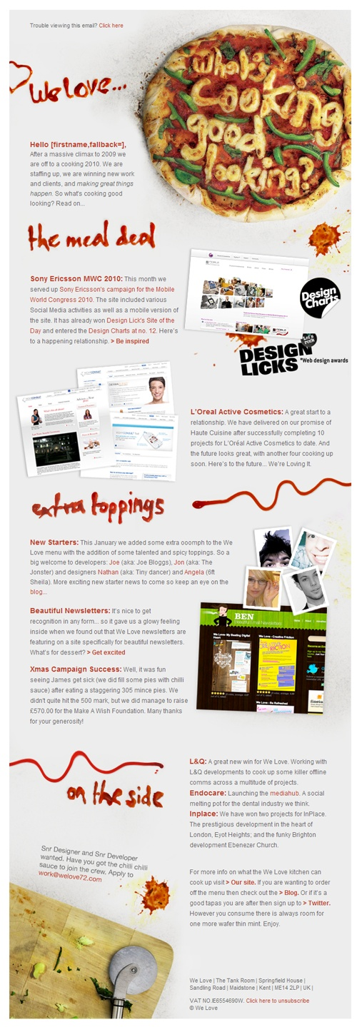 44 best images about electronic direct mail examples on for Beautiful newsletter design