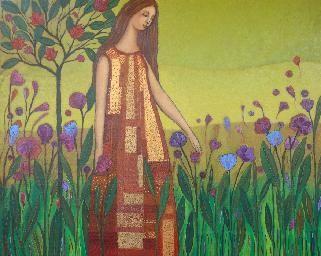 Sonia Koch   En el jardin