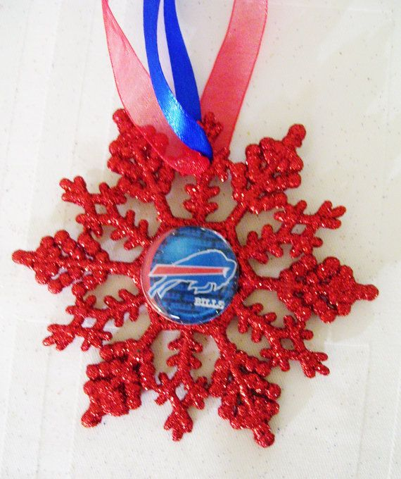 Buffalo BILLS Football Fans Christmas Ornament by ZZsTeamTime