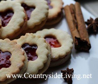 Печенье с вареньем (джемом, желе, павидлом). Новогоднее печенье, рождественское печенье