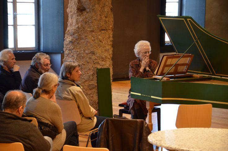 19.03.15 Aktion 15 Orte im Salzlager Hall mit Marinette Extermann.