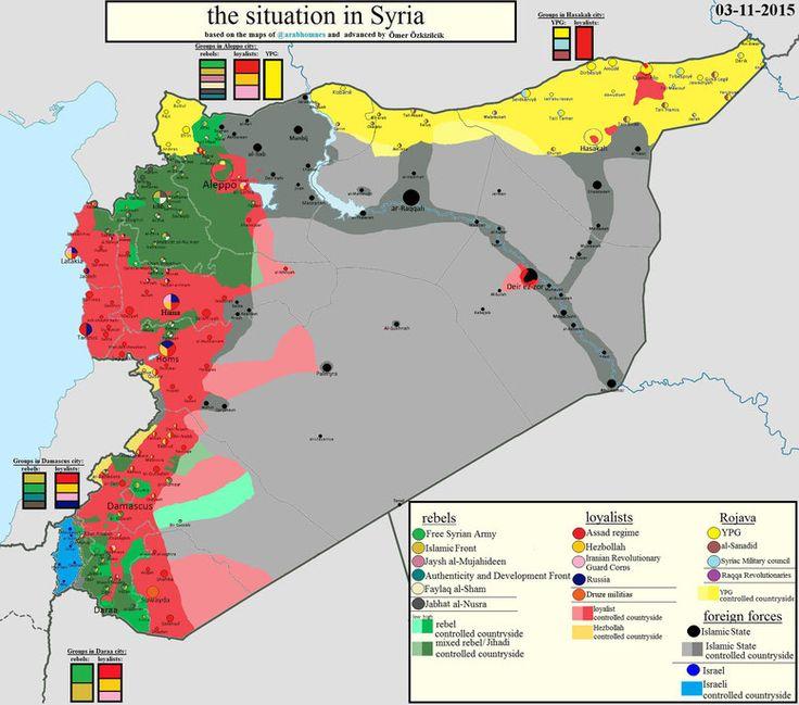 Die militärische Lage in Syrien - 03.11.2015