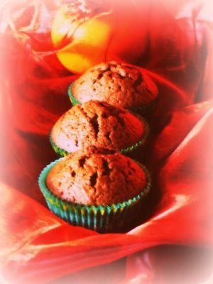 Chocolade-sinaasappelmuffins