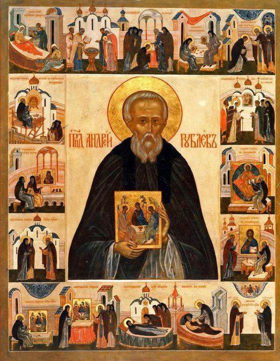 Heilige Andrej Rubev