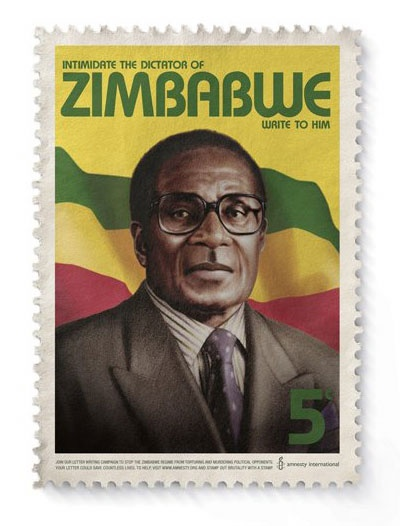 Amnesty International. Robert Mugabe