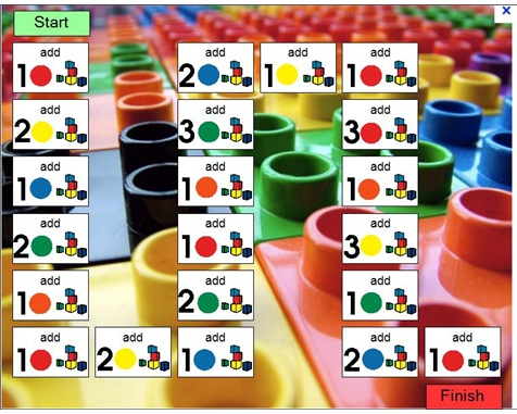 Lego Game Board! Free download with boardmaker.