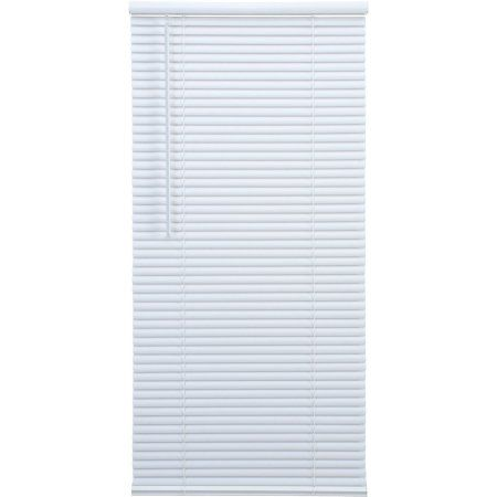 Elegant Windows 1 inch Cordless Room Darkening Blinds, White