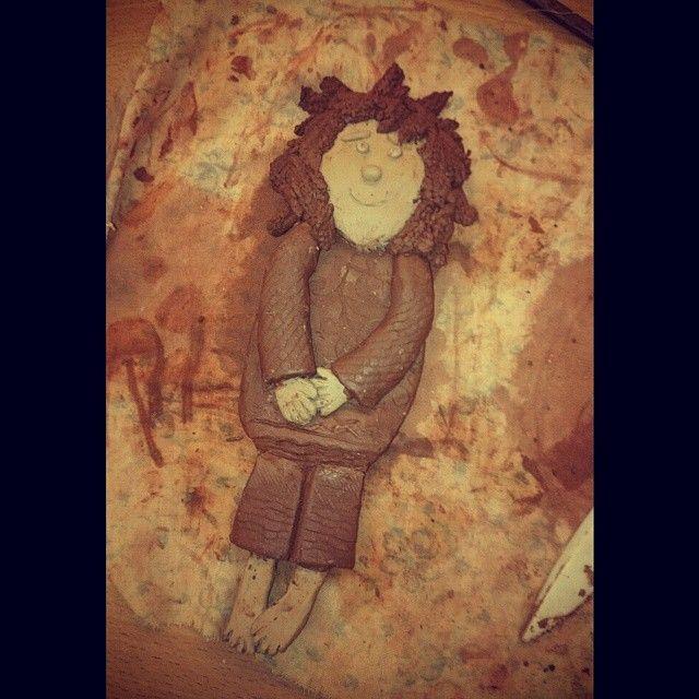 #глина #керамика  #хендмейд #домовой #handmade #ceramics #clay #brownie