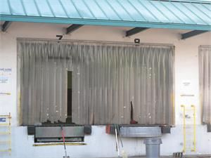 PVC Strip Curtain Replacement Strips - New Plastic Strip Curtains On Sale. Traffic Doors and More.com with New Strip Curtains.