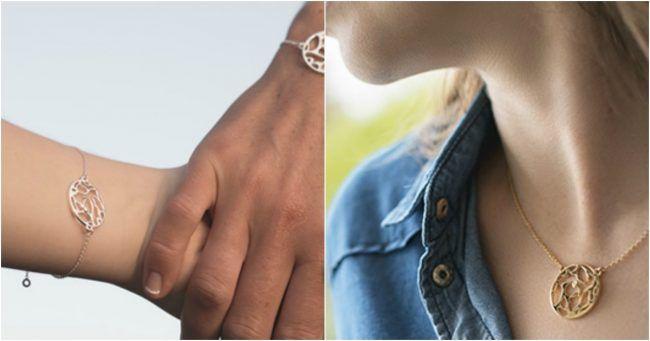 [TOPITRUC] Un bijou personnalisable avec les coordonnées GPS du lieu de ta rencontre