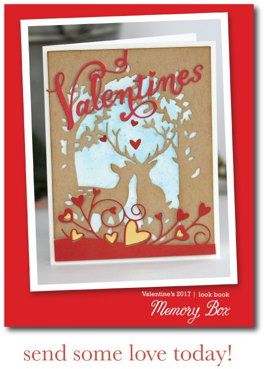 583 best images about My Memory Box Cards – Box of Valentine Cards
