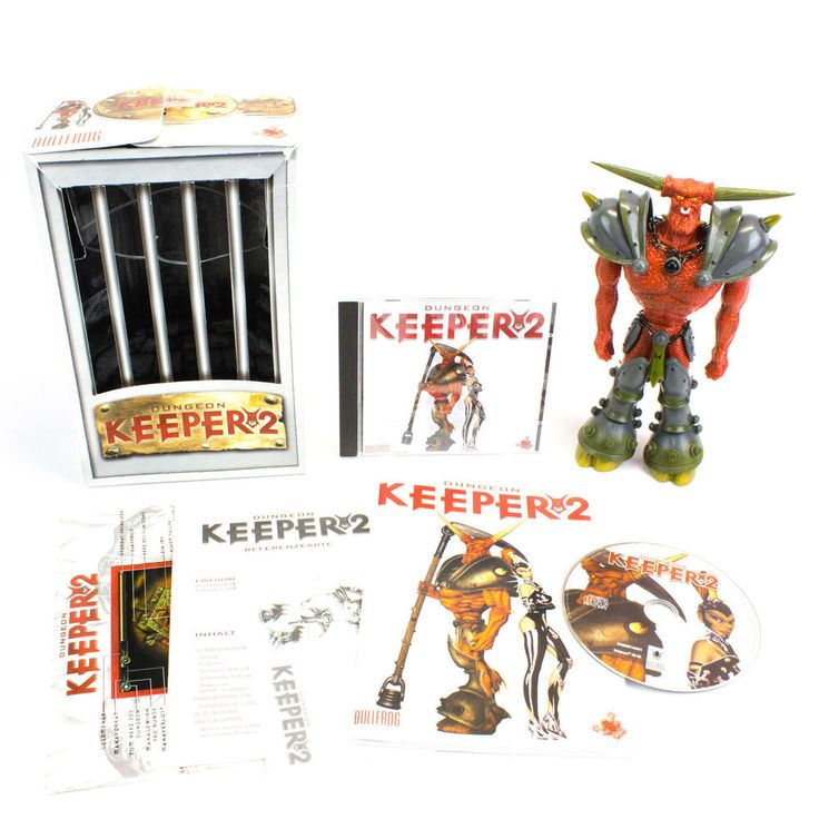 Dungeon Keeper 2 Collectors Edition, The Reaper Figure, PC CD-ROM