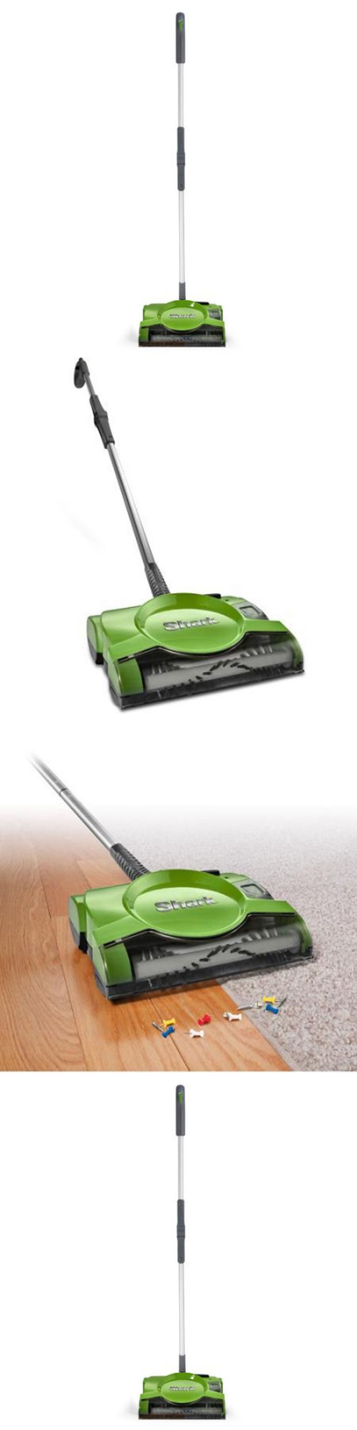 household items: Shark Swivel Cordless Sweeper Vacuum Cleaner Rechargeable Floor Carpet Green New -> BUY IT NOW ONLY: $49.97 on eBay!
