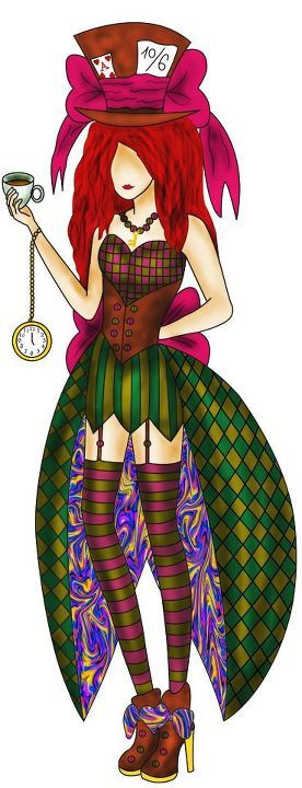 Female Mad Hatter                                                                                                                                                      More