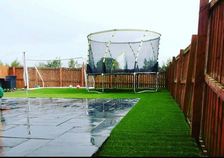 From beautiful green grass expertly installed, expertly crafted fencing to ensure privacy, decking solutions to entertain friends and family or special features that add a personal touch, our team can create your dream garden at prices to suit all budgets.  Call Us: 01506655965 Or visit our website www.westlothianlandscapedesign.co.uk  #WestLothianLandscapeDesign #artificial #fakegrass #artificialgrass #astroturf #grass #syntheticgrass #syntheticturf #garden #landscape #gardening #scotlandU)