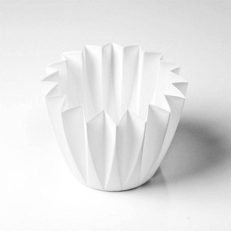 Blomsterskjuler plast – Lille Hvid