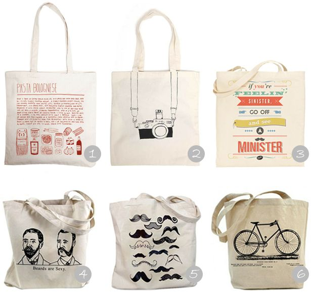 canvas tote bags, diy, canvas, bag beards are sexy - love it
