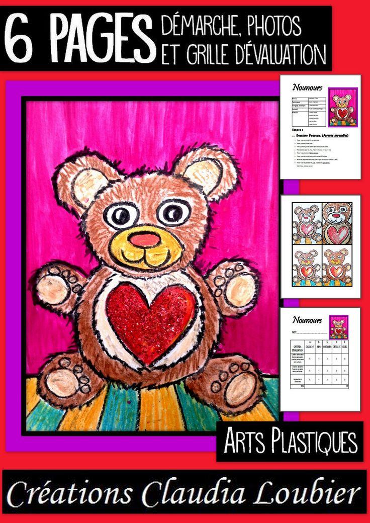 Voici un projet pour la St-Valentin. Maternelle et plus. Nous travaillerons les formes arrondies. Vous aurez besoin de crayons de cire et de gouache en pain. Très simple, mais efficace. Vous pouvez aussi utiliser ce projet pour créer une carte. Démarche, photos et grille d'évaluation incluses. Bonne St-Valentin ! :)