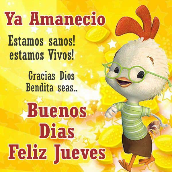 Frases feliz jueves para todos - Telenovela