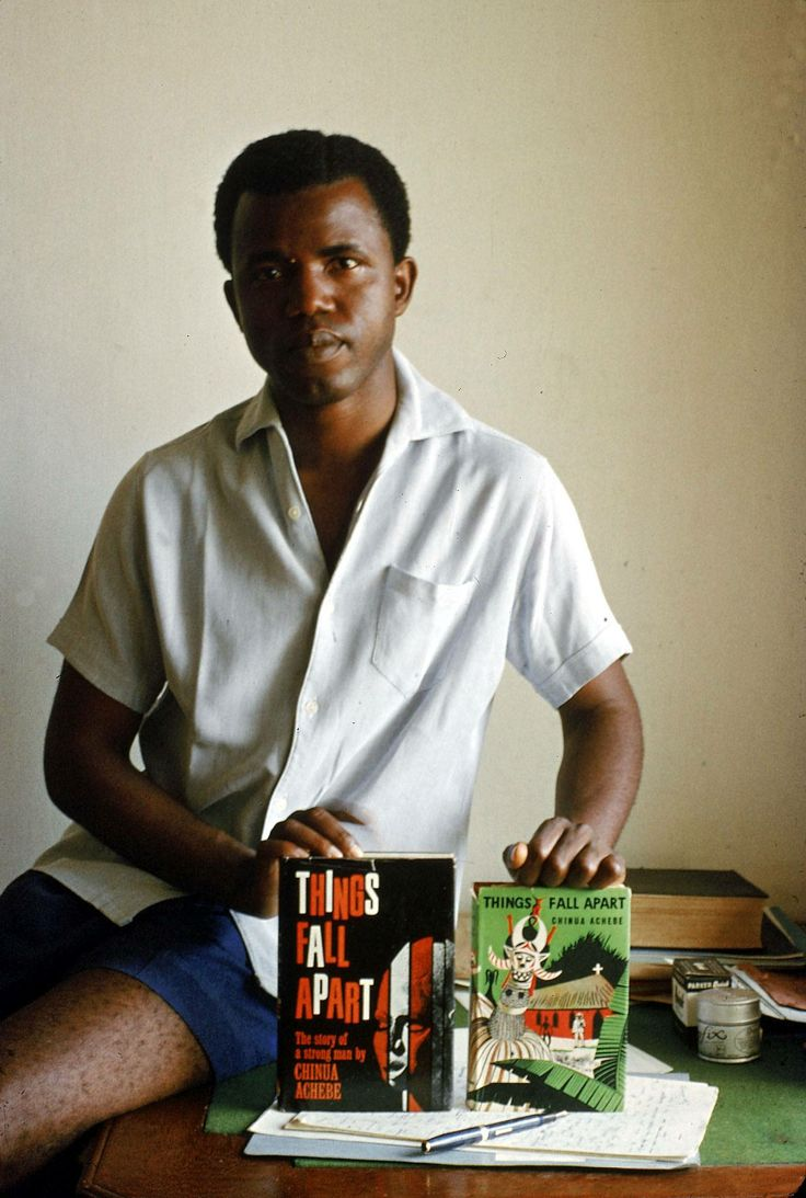 Gift Guide Item #22: Chinua Achebe's books collection.