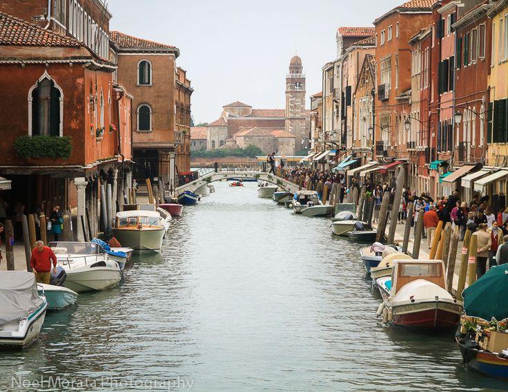 Exploring Murano, Large canal in #Murano #Venice #italy