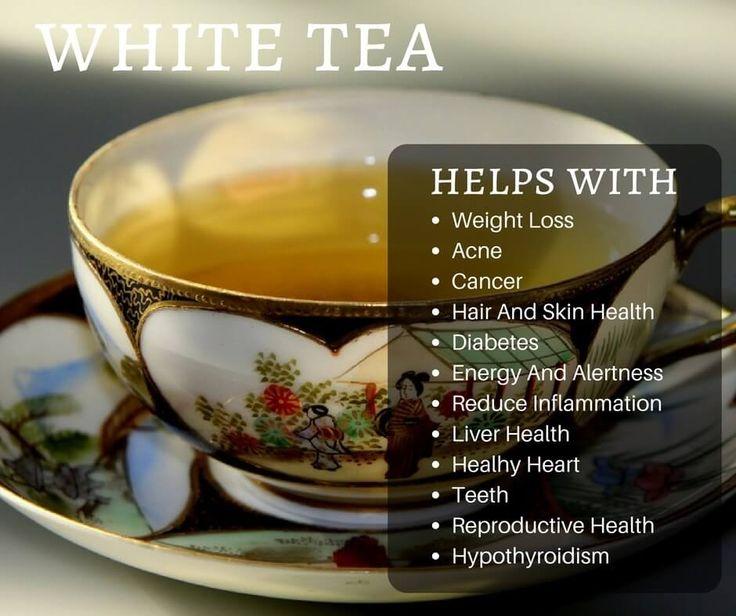 The Health Benefits to Drinking White Tea