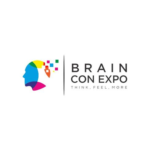 State-of-the-art logo for state-of-the-art nonprofit! Help revolutionize Brain Con Expo 🌟 Design by bitdesigns