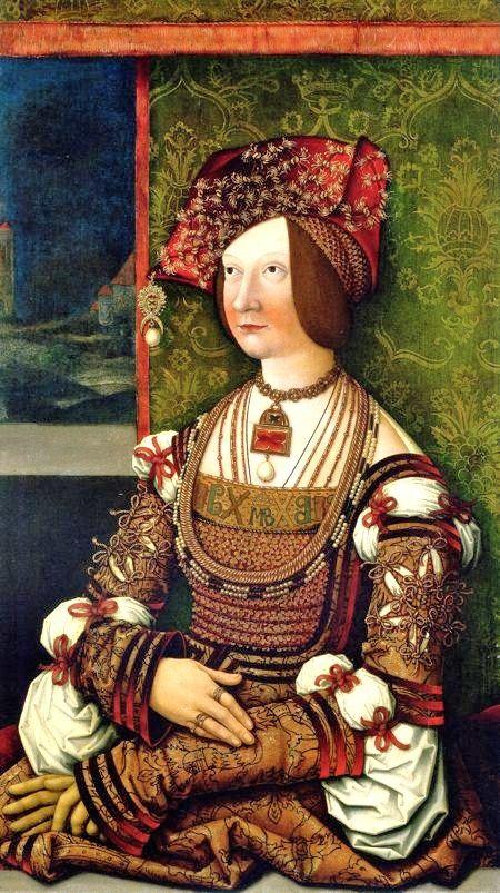 Bernard Stigel - Bianca Maria Sforza (1472–1510) was Holy Roman Empress as the second wife of Maximilian I