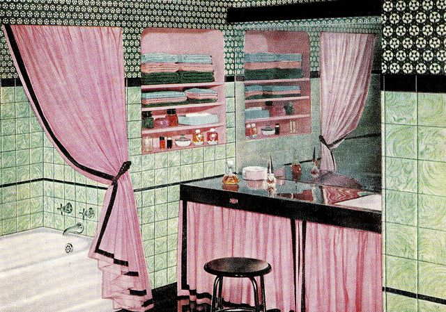 1000+ images about new house auf Pinterest Retro Dekoration - badezimmer vintage