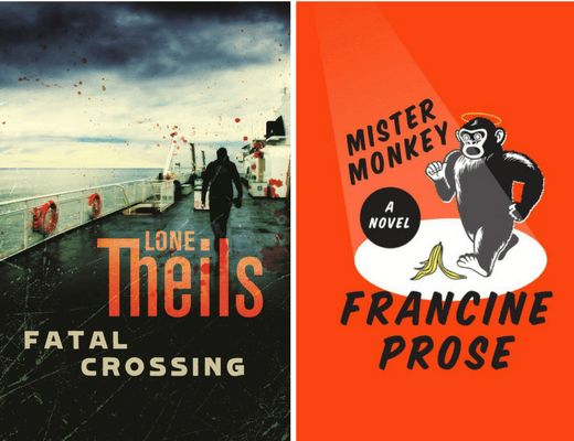 Booklover Mailbox - Fatal Crossing by Lone Thiels and Mister Monkey by Francine Prose