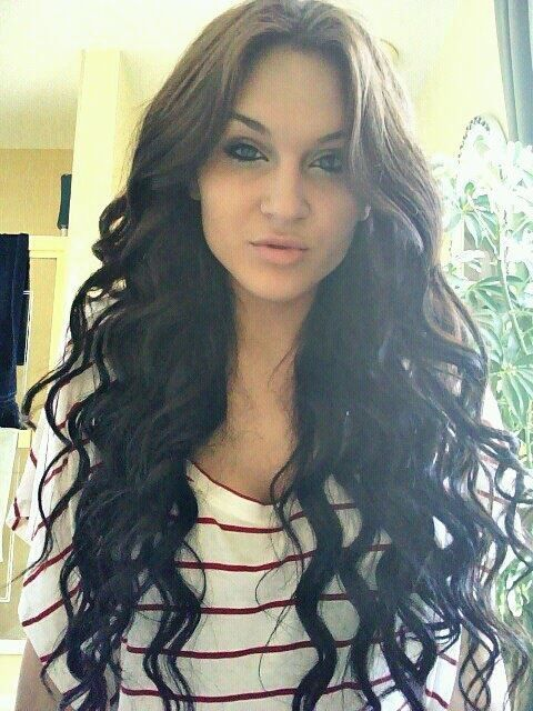 my hair using a wand curling iron more hair stylessss curling irons ...