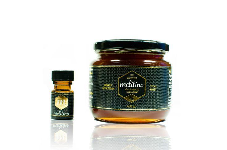 Λογότυπο + Συσκευασία για Μέλι melitino, Κεφαλονιάς από SmartGraphic.GR
