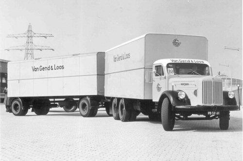 Scania Vabis PB-39-61 van Gend & Loos