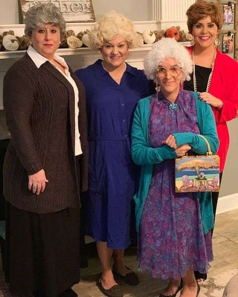 317b7464f Golden Girls costume 2018. Halloween Group costumes We had so much fun with  this