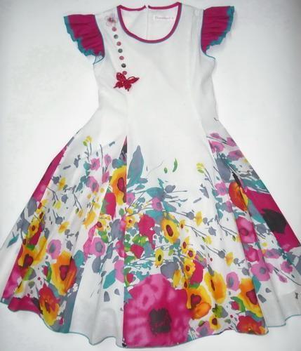 Платье ботаник