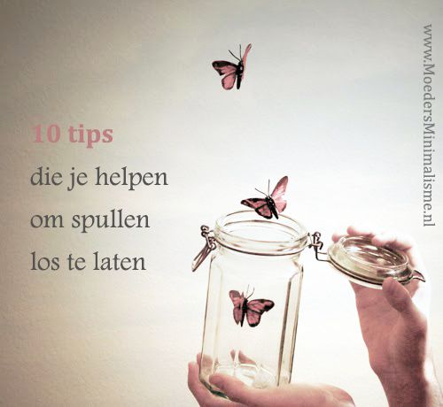 10 tips die je helpen om spullen los te laten