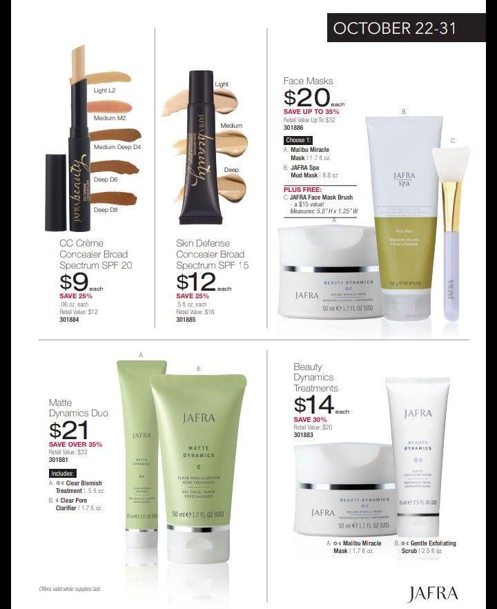Jafra Skin Care And Make Up Skin Care Spa Masks Light Face Mask
