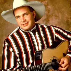 Chris Gaines...just kidding, Garth Brooks - and I said he'd never make it back in 1989!