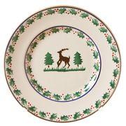 Side Plate Reindeer