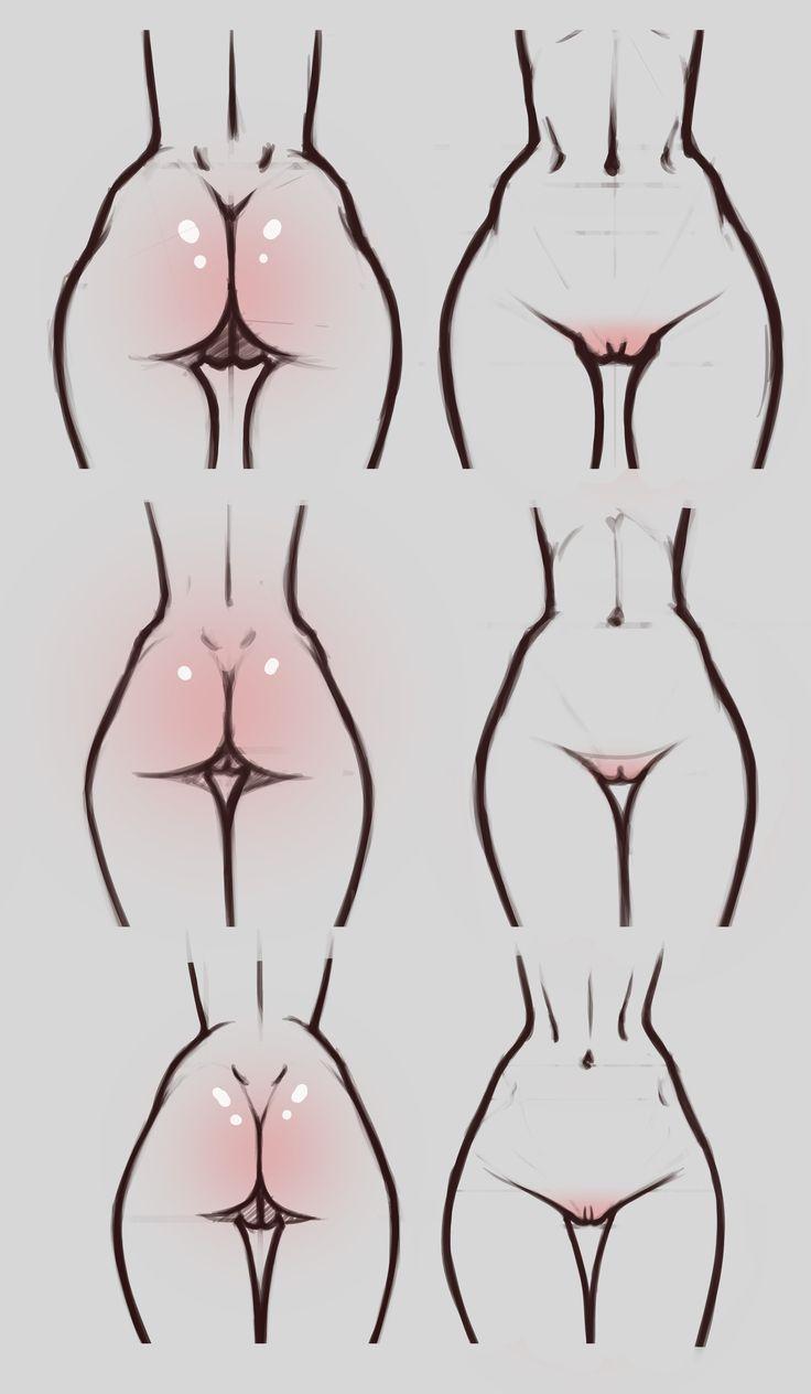 #ass #ksenobayt #drawing #hips #butt #women #girl #girlbody #body #anatomy