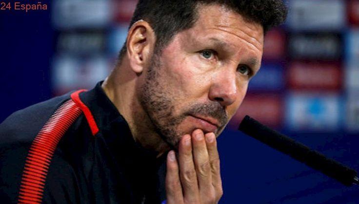 """Simeone: """"No tenemos un jugador que nos gane un partido"""""""
