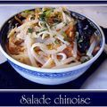Salade chinoise au crabe