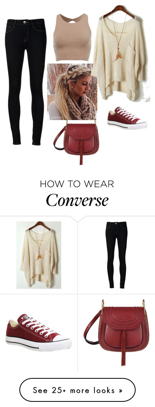 """Untitled #162"" by jopa123 on Polyvore featuring Ström, Converse and Chloé"
