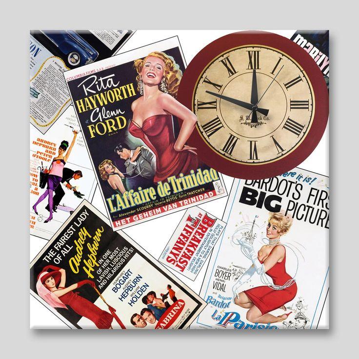 Dekorasyon| Özel Tasarım Saatler, | APOLENA, | Apolena dergi sayfaları Kanvas Saat , | saat, tablo, kanvas saat, apolena saat, duvar saati, saatler