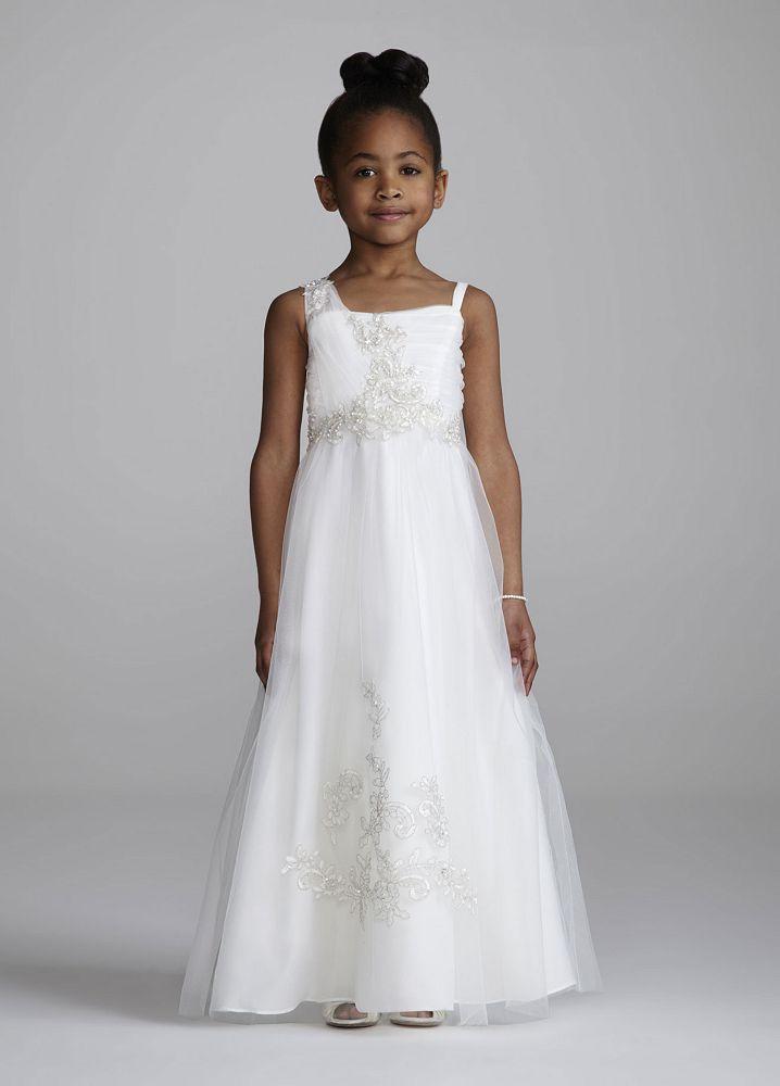 Davids Bridal Flower Girl Dress Wg1267 : David s bridal flower girl dress oleg