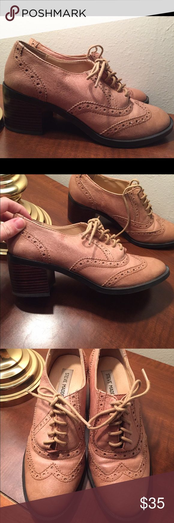 Steven madden shoes Steve Madden Casual shoe with a heel- in excellent condition, only worn a few times. Steve Madden Shoes Flats & Loafers