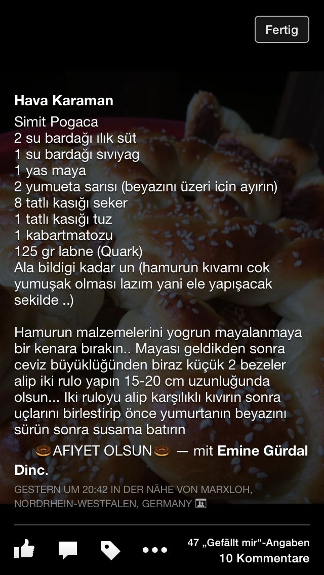 Simit poğaça