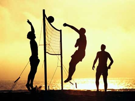 Nothing can beat volleyball.