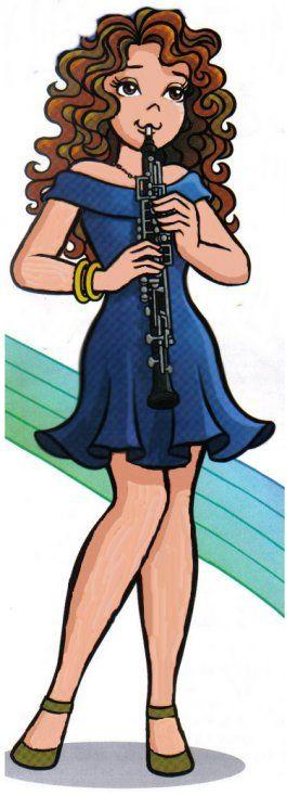 Marina Tocando Flauta